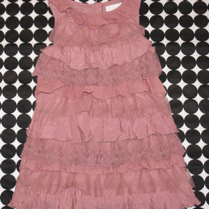 NEXT Signature Collection Pink Tiered Dress Sz 6